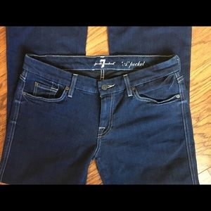 """7 for all Mankind """"A""""Pocket Jeans size 30"""